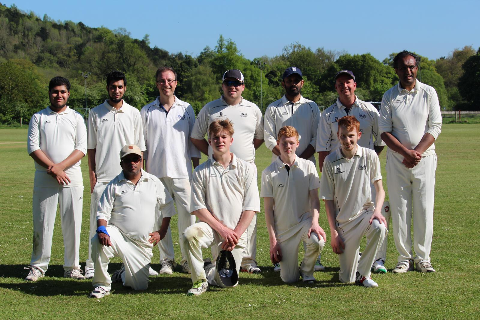 4th team at Dorking